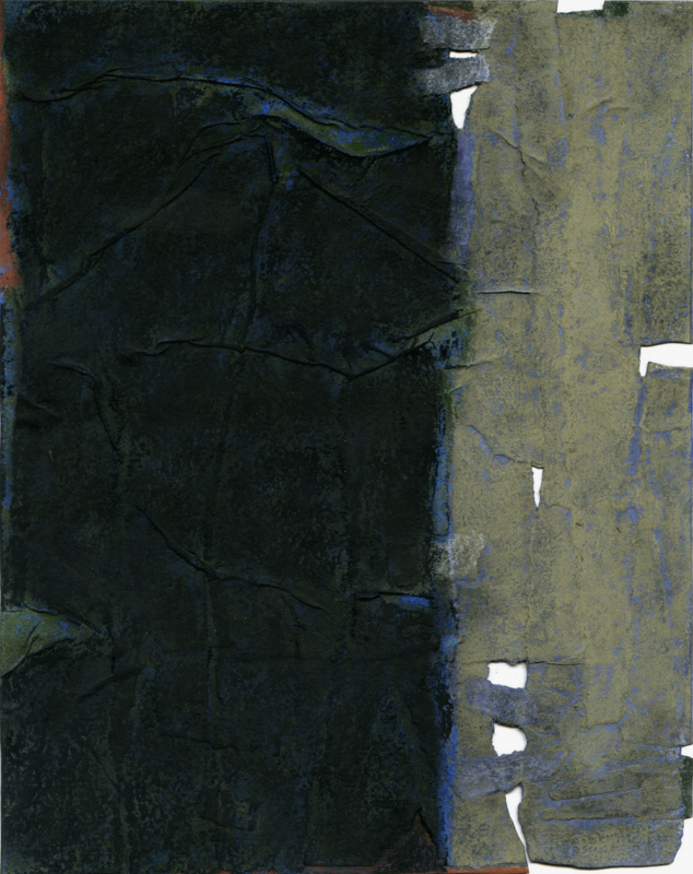 Gilbert Desclaux, Pastel 1, 2015.
