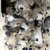 Jérémy Louvencourt, Eros, Ink and collage, 2019