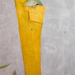 Gilbert Desclaux, Les guetteurs d'ombre - 10, acrylic on canvas, 130 x 97 cm, 2007.