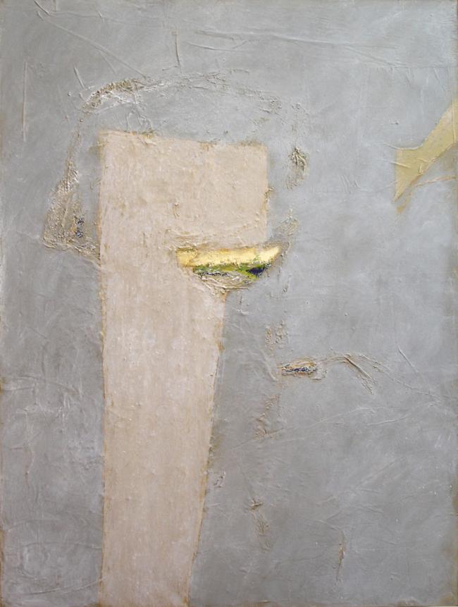 Gilbert Desclaux, Guetteurs d'ombre-11, acrylic on canvas, 130 x 97 cm, 2007.