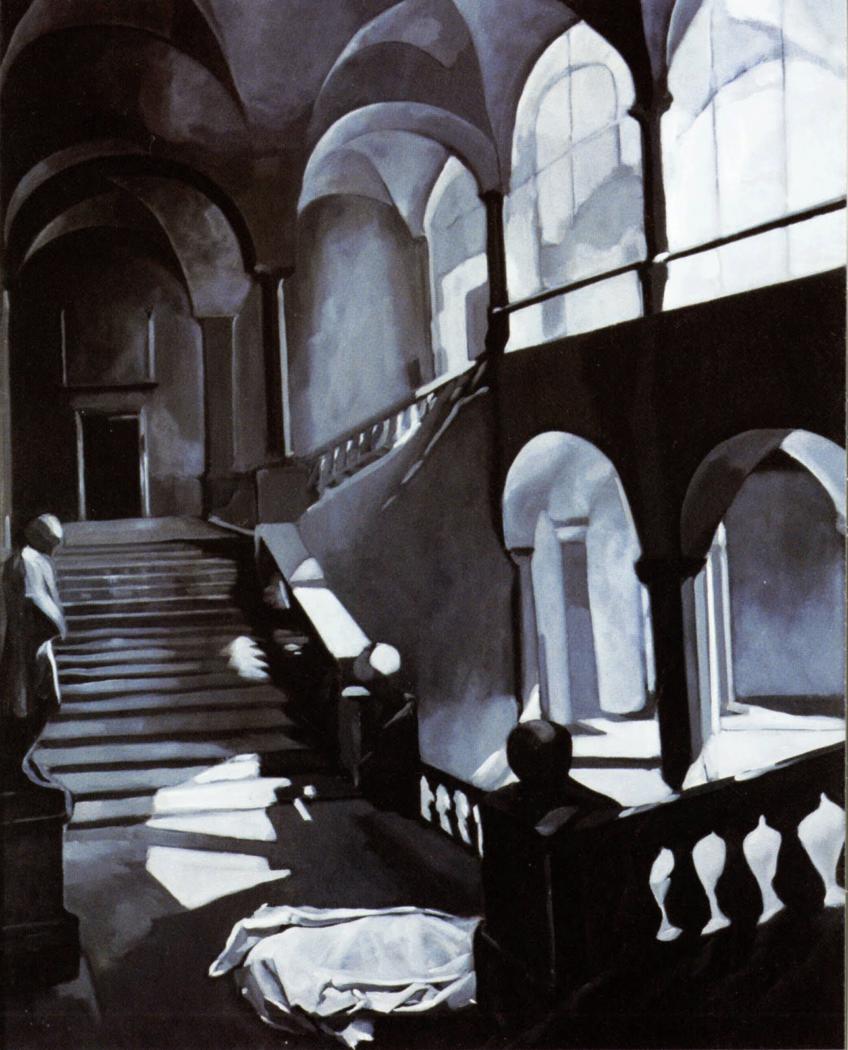 Édouard Trémeau, Façades n°8 (Le silence de l'ordre), 1980.