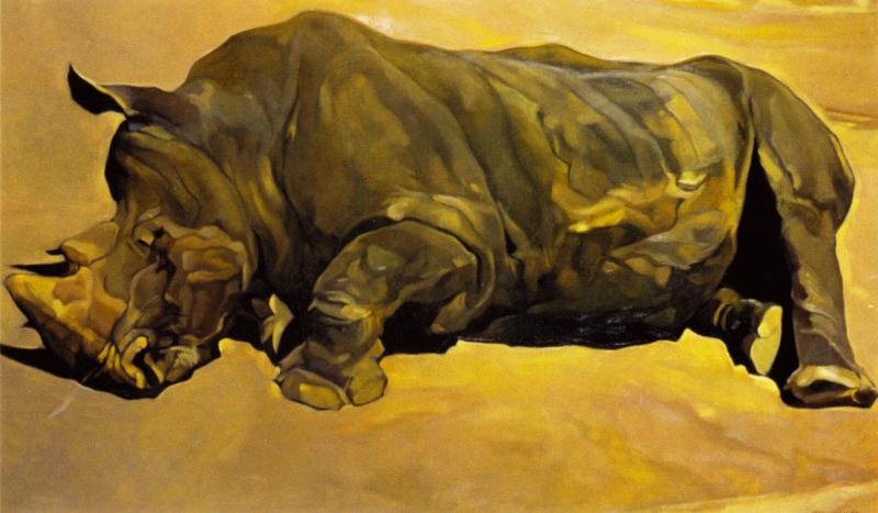 Édouard Trémeau, La mort en ce jardin (zoologique) n°2, 1999.