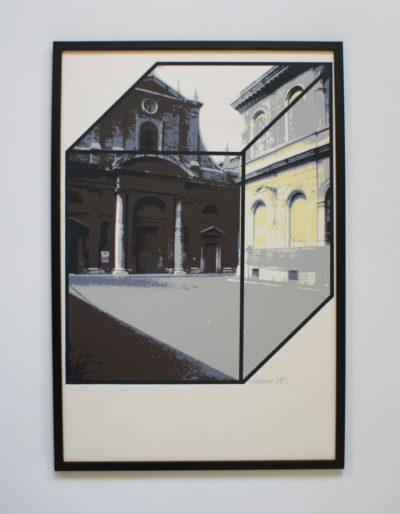 Edouard Trémeau, Place en attente, 1985.