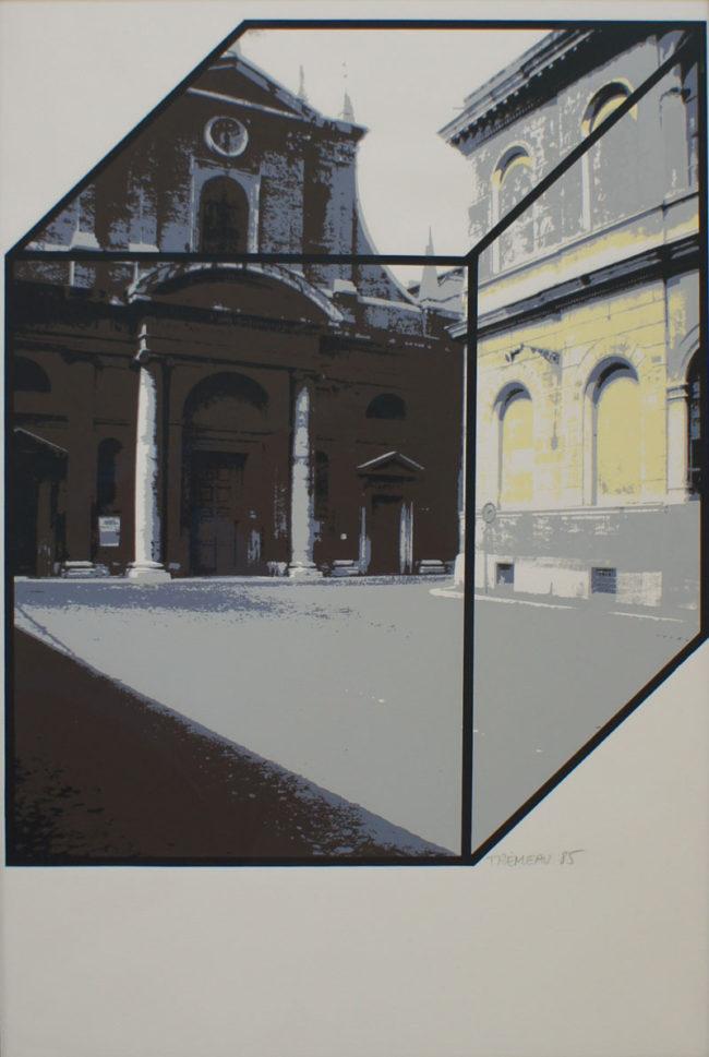 Edouard Trémeau, Place en attente, 1985