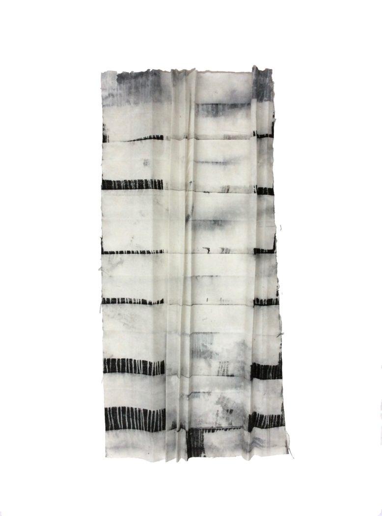 Muriel Valat-B, Le plus profond c'est la peau n°1, 2019.13x29 cm.