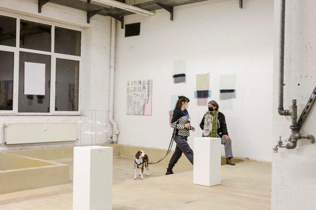 Muriel Valat-B, Phalènes, 2020, Rathenau Hallen • Berlin © Petra Lehnhardt-Olm