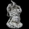 Muriel Persil, Les salamandres, Ceramics, 2015. 50H x36L X 40D cm.