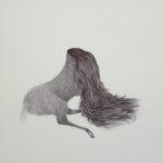 Marielle Degioanni, Sans titre, 2017. Stylo à bille sur papier, 23x31cm.