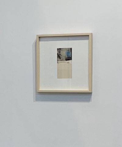 Muriel Valat-B Lineatur 6, Framed.